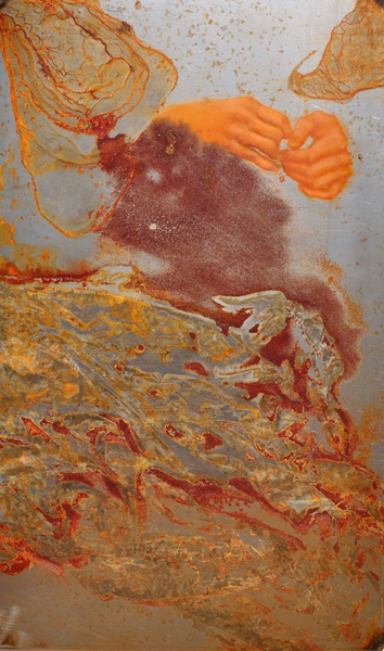 RUST #6 by the artist Roberta Ubaldi