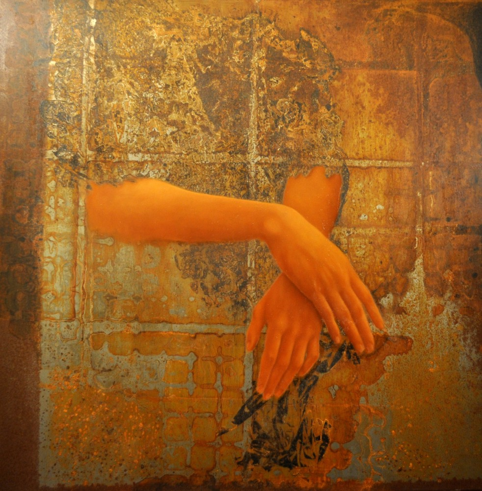 RUST#14 by the artist Roberta Ubaldi