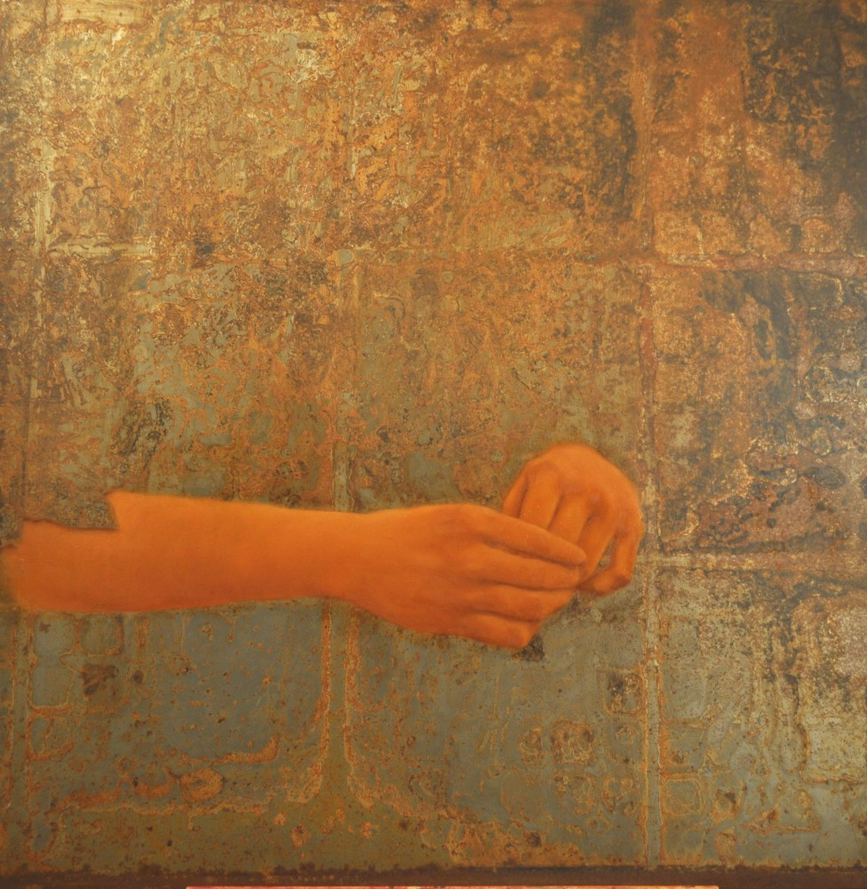 RUST#16 by the artist Roberta Ubaldi
