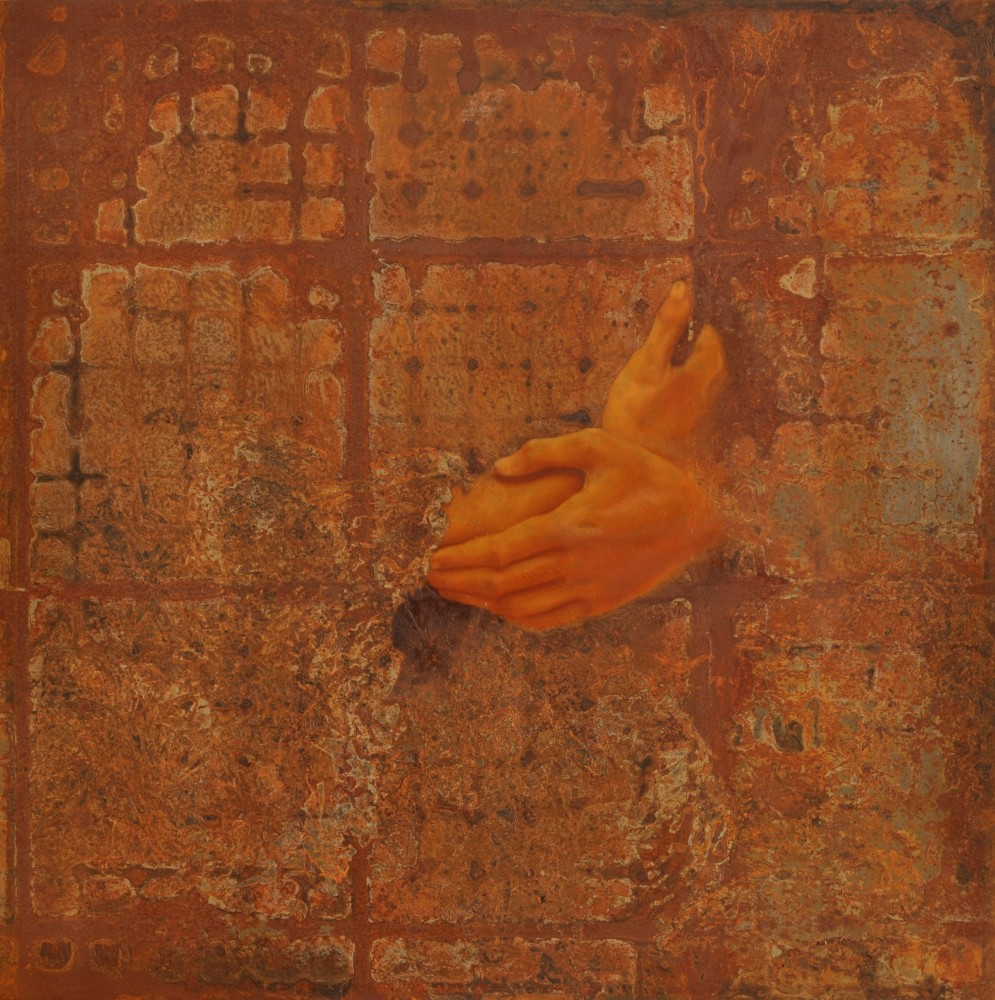 RUST#17 by the artist Roberta Ubaldi