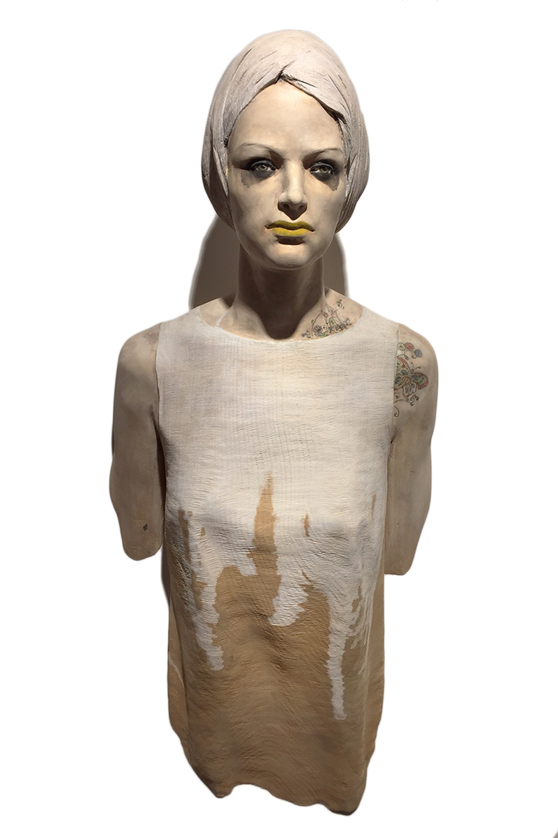 DONNA by the artist Leo Ferdinando Demetz