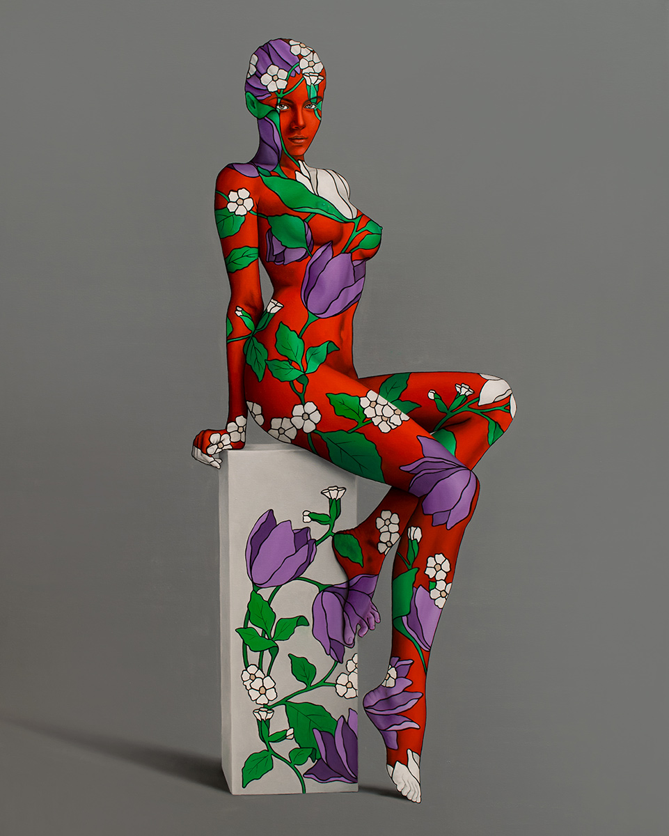 BLOOMING WOMAN III by the artist Danilo Martinis